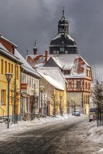 Stadt Harzgerode Einkaufsstraße von Daniel Kühne