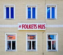 Sweden - Folkets hus von Leopold Brix