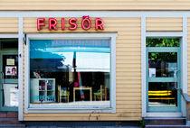 Sweden - Barber shop by Leopold Brix