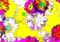 POP ART Blütenträume by Eckhard Röder