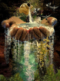 Water of life. Wasser des Lebens. by Marie Luise Strohmenger