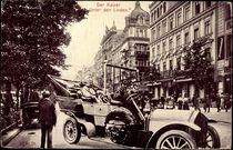 Berlin, Der Kaiser Unter den Linden, Automobil von arkivi