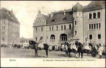 Berlin, Kaiser Wilhelm II. beim Alexander Garde Grenadier Regiment by arkivi