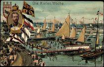 Litho Kiel, Kieler Woche, Prinz Heinrich v. Preussen von arkivi