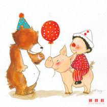 Ballon rouge von sarah-emmanuelle-burg