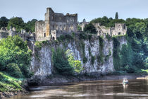 Chepstow Castle by David Tinsley