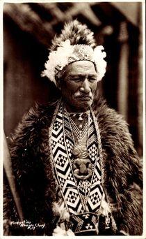Neuseeland, Rangatira, Anawa Chief von arkivi