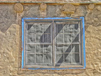 Adobe Window by Mary Lane
