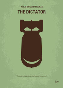 No212 My The Dictator minimal movie poster von chungkong