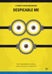 No213 My Despicable me minimal movie poster by chungkong