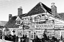 The Woodman Pub von David Pyatt