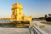 Belem Tower (Torre de Belem) in Lisbon von Michael Abid
