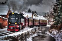 Harzer Schmalspurbahn im Winter von Daniel Kühne