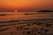 Llangennith Sunset by Dan Davidson