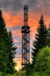 Carlsbergturm Aussichtspunkt über den Harz  by Daniel Kühne