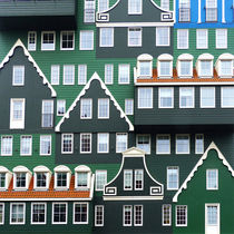 A pile of houses by Harry Hadders