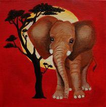 Baby Elefant von anowi