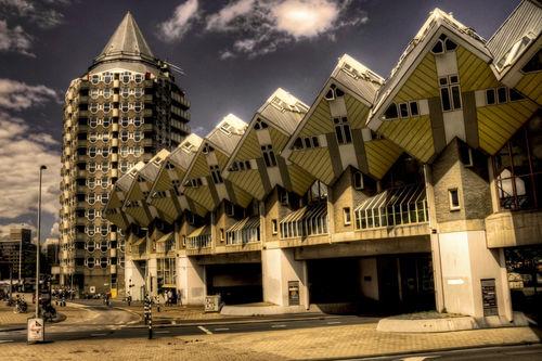 Cube-house