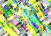 Abstrakte Farbstrukturen von Eckhard Röder