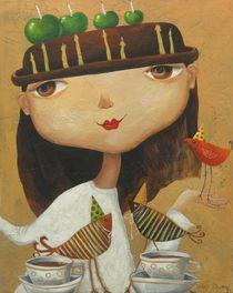 Birthday girl von Yelena Dyumin