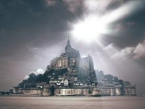 Le Mont-Saint Michel von Harry Hadders