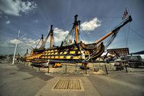 HMS Victory  von Rob Hawkins