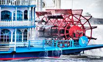 Mississippi Dampfer im Hamburger Hafen von fraenks