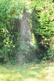 Wassertropfenfontäne von Silke Bicker