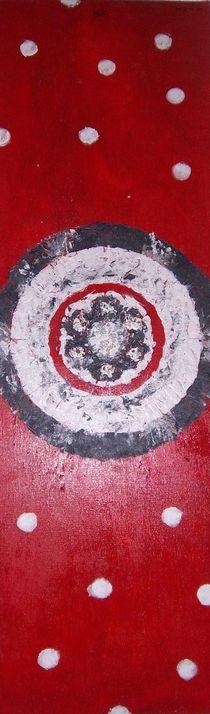 Schwarz-Weiß-Rot by Heide Pfannenschwarz