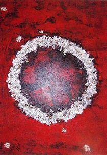 Schwarz-Weiß-Rote Farbenpracht von Heide Pfannenschwarz