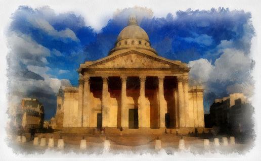 Panteon-paris-draw