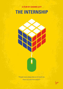 No215 My The Internship minimal movie poster von chungkong