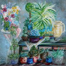 Table of a Plant Lover by eloiseart