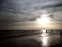 Sun Setting Along the Gulf Coast by skyler