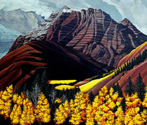 Pyramid Peak, near Aspen, Colorado by Dale Bargmann