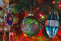 Still life with Christmas ornaments by Dale Bargmann