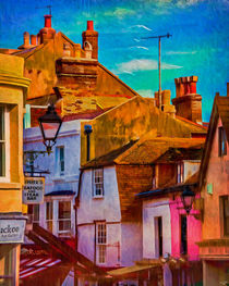 "Hastings Old Town ""Paintography"" von Chris Lord"