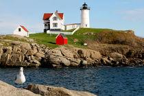 Portland Head Light, Cape Elizabeth, Maine by Dale Bargmann