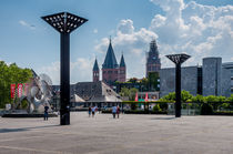 Mainz Rathausplatz von Erhard Hess