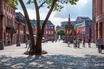 Mainzer Marktplatz by Erhard Hess