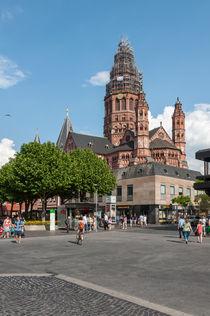 Mainzer Gutenbergplatz von Erhard Hess