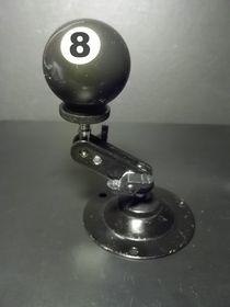 the eightball, die schwarze Acht (clear) by techdog