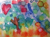Zauberwald abstrakt by pemalilly