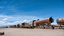 Train Cemetery, Salar de Uyuni part 16 by Steffen Klemz