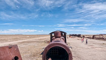 Train Cemetery, Salar de Uyuni part 14 by Steffen Klemz