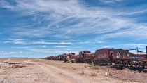 Train Cemetery, Salar de Uyuni part 8 by Steffen Klemz