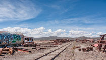 Train Cemetery, Salar de Uyuni part 5 by Steffen Klemz