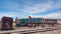 Train Cemetery, Salar de Uyuni part 4 by Steffen Klemz