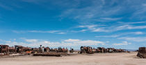 Train Cemetery, Salar de Uyuni part 2 by Steffen Klemz