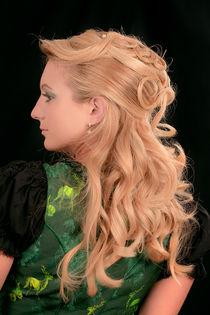 Profil einer Frau von Miloslava Habermehl